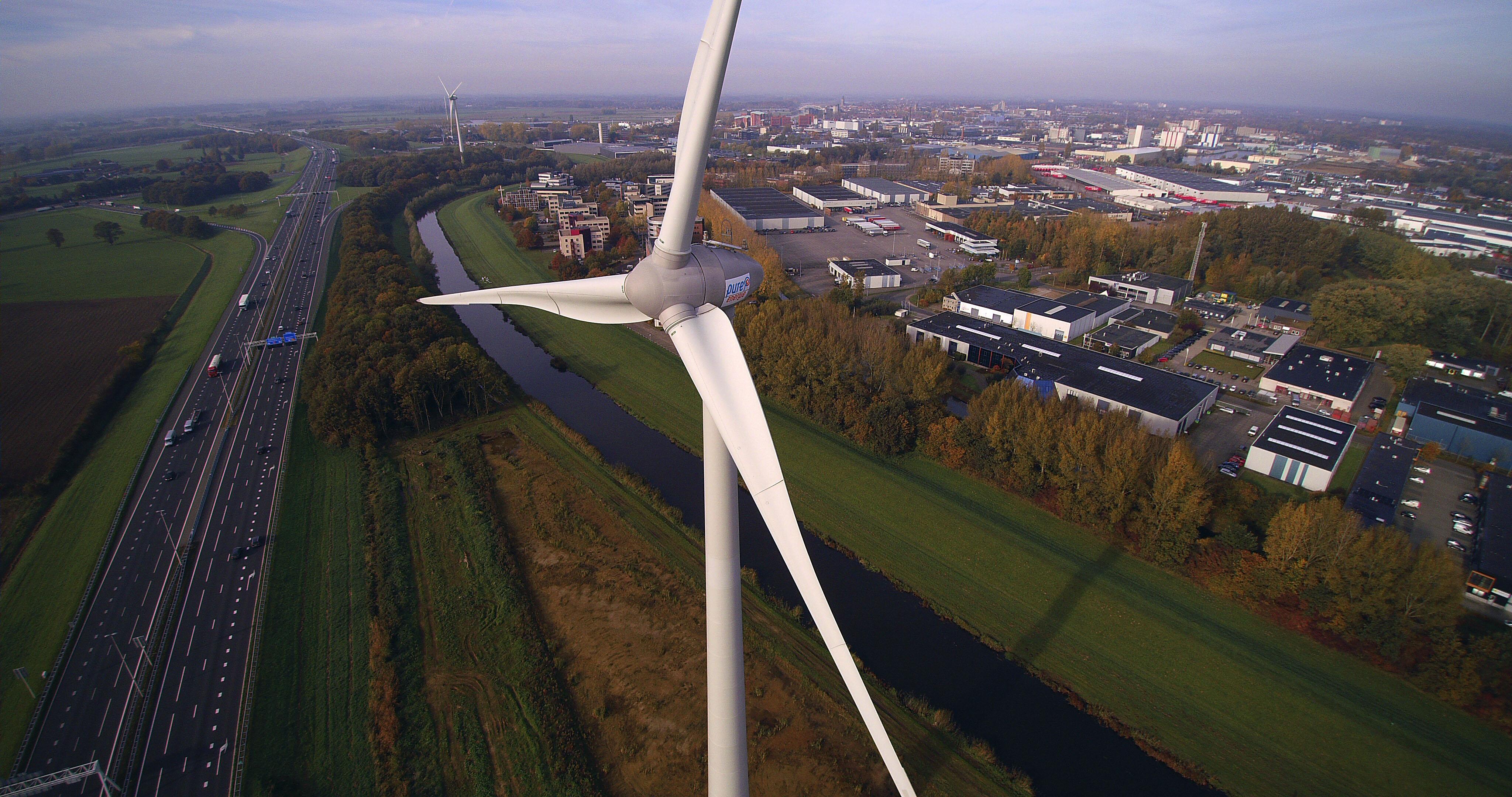 Wonen in de buurt van een windmolen | Pure Energie